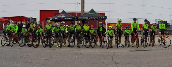 L'Escola de Ciclisme Vallès es proclama campiona per equips a la Copa de Catalunya Infantil de Ruta