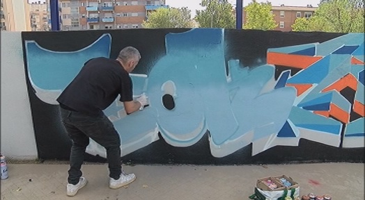 Una trentena d'artistes urbans participen en el Terrassa Walls Jam